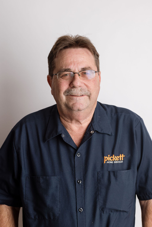 staff photo of Kevin Pickett, Plumbing Director